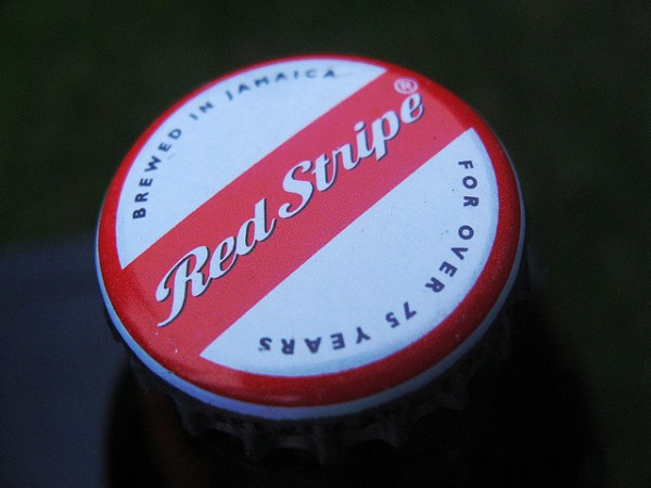 Red Stripe Beer Kronkorken